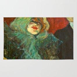 """Henri de Toulouse-Lautrec """"Au Rat Mort"""" Rug"""