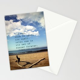 The Sea Casts its Spell Stationery Cards