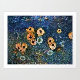 Abstract beautiful barnacles Art Print