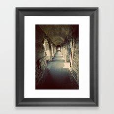 Going the Distance Framed Art Print