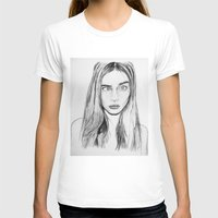 cara T-shirts featuring Cara by Chris Watts Art