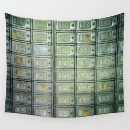 PO boxes Wall Tapestry