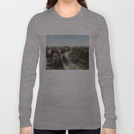 Vintage Brooklyn NY Photo-Print (1904) Long Sleeve T-shirt
