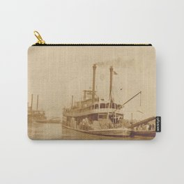 Vintage Steamboat Photographic Print Carry-All Pouch