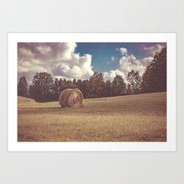 Hay You Art Print