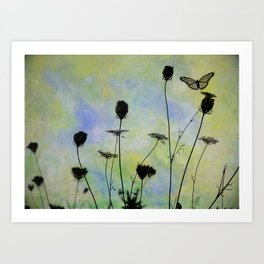 Wildflower Garden Art Print