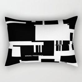 Wrong Frequency Rectangular Pillow