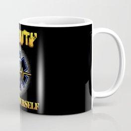 Off Duty Save Yourself - Funny EMS EMT Paramedic Illustration Coffee Mug