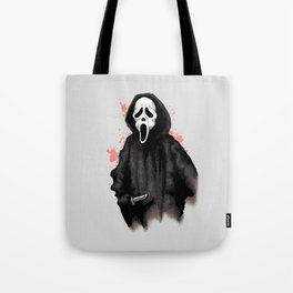 Ghost Face Tote Bag