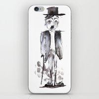 chaplin iPhone & iPod Skins featuring CHAPLIN by Halley's Coma
