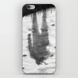 Oyster Catchers iPhone Skin