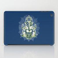 ganesh iPad Cases featuring Ganesh by Scalifornian