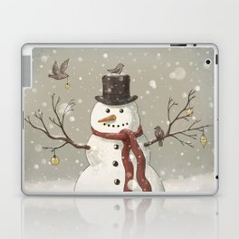 Christmas Snowman  Laptop & iPad Skin