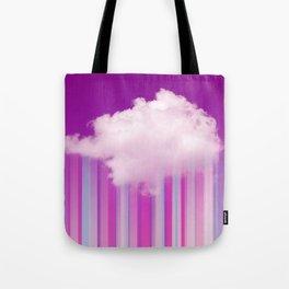 Raining Lines Tote Bag