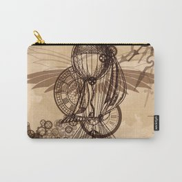 Steampunk - Clock and Gears Ballon Carry-All Pouch