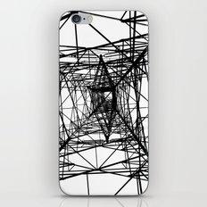 Large Electricity Powermast iPhone Skin