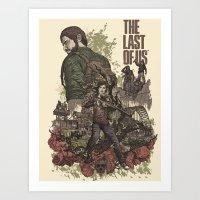 The Last of Us Artwork Art Print