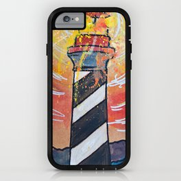 Lighthouse Funk 1 iPhone Case