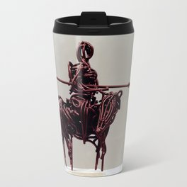Don Quixote by Shimon Drory Travel Mug