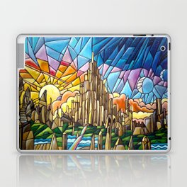 Asgard stained glass style Laptop & iPad Skin