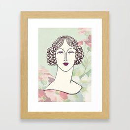Lady III Framed Art Print