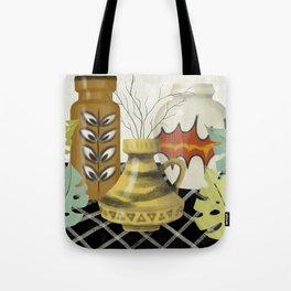 Mid Century Modern Love Tote Bag