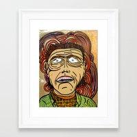 danny ivan Framed Art Prints featuring Ivan by Patty Hogan
