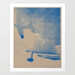 WIND & RAIN Art Print