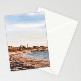 Cape Cod Beach Lighthouse Stationery Cards