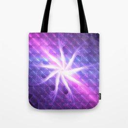 Flower of 9 Celestial Rains Tote Bag