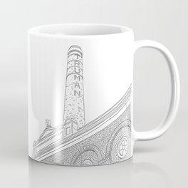London Truman Chimney - Line Art Coffee Mug