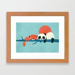 Pandas Framed Art Print