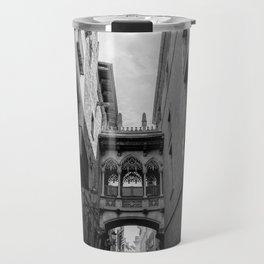 Barcelona Gothic Quarter Travel Mug
