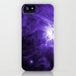 Orion Nebula Ultraviolet iPhone Case