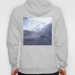 Tiny Snowflakes on Ice Hoody