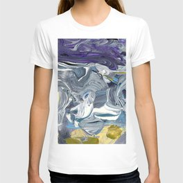 Avalanche - Purple Grey Gold T-shirt