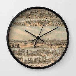Bridgeport 1882 Wall Clock