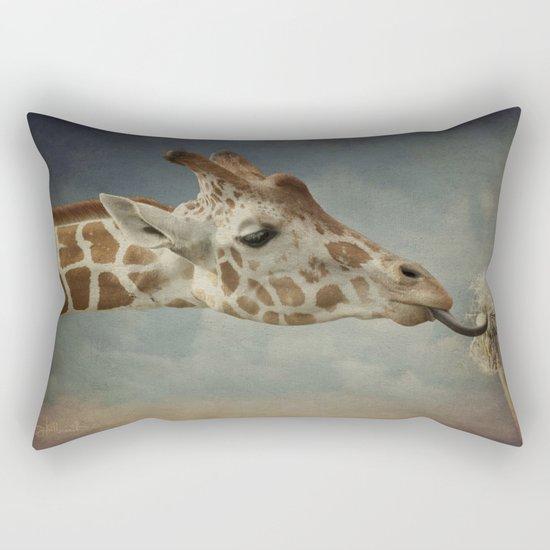 Cute baby Giraffe Rectangular Pillow