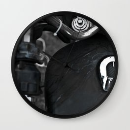 Gasoline Wall Clock