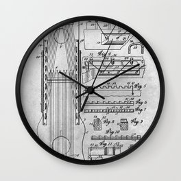Stringed musical instrument Wall Clock