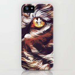 Tiger Fleur de Lis iPhone Case