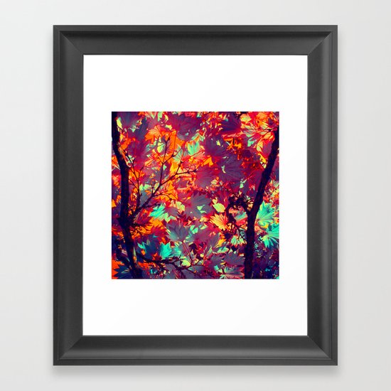 autumn tree X Framed Art Print