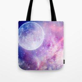 Pastel Celestial Skies Tote Bag