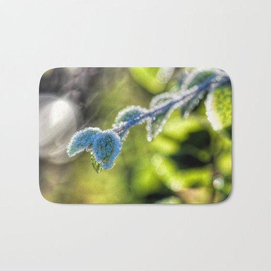 First hoar-frost Bath Mat
