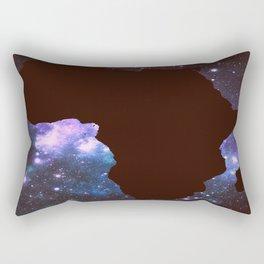 Galaxy Africa Continent Rectangular Pillow