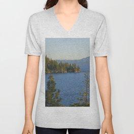 Trees + Tahoe III Unisex V-Neck