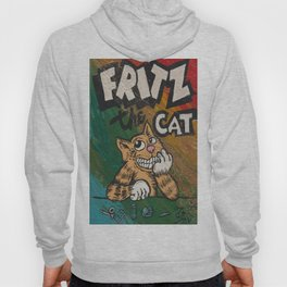 CULT ICON, FRITZ THE CAT by DAVID C*J BUNN Hoody