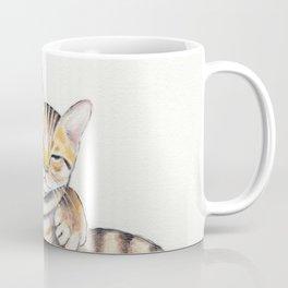 Bengal Cats Love Watercolor Ink Art Coffee Mug