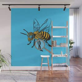 The Bee's Knees Wall Mural