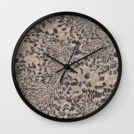 Abstract Geo Wall Clock